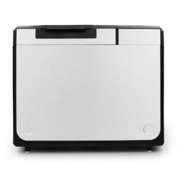 Klarstein Country-Life Brotbackautomat Brotbackmaschine vollautomatischer Edelstahl-Brotautomat für 1 kg Brot (12 Backprogramme, Timer, Warmhalte- & Knet-Funktion) schwarz-silber - 5