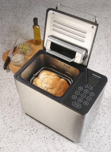 Kenwood BM 450 Brotbackautomat Test