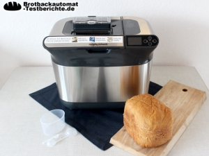 Morphy Richards 48319 Brotbackautomat Test