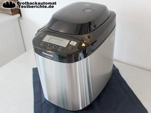 Panasonic SD ZB2512KXE Brotbackautomat Test Seitlich