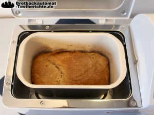 Unold 68511 Backmeister Extra Backergebnis Brot