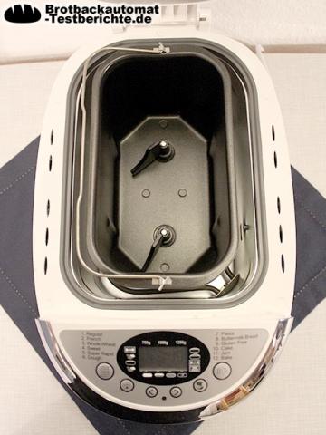 TZS First Austria Brotbackautomat Backform und Knethaken
