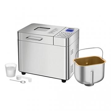 UNOLD Brotbackautomat Backmeister Edel, 550 W, 750-1000 g Brotgewicht, Keramik-Beschichtung, 68456 -