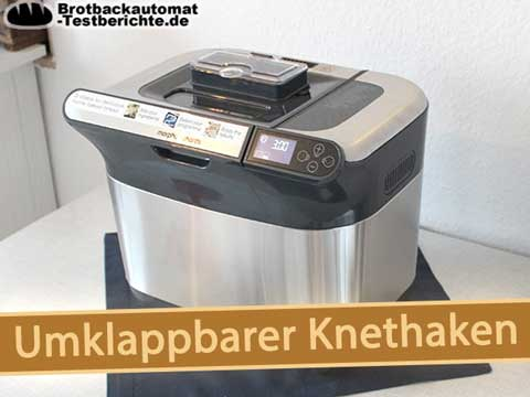 brotbackautomat test umklappbarer-knethaken morphy richards premium plus